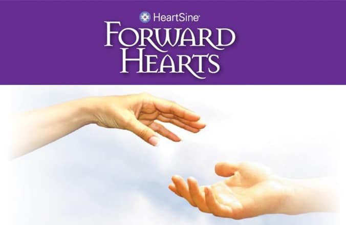 HearSine Forward Hearts défibrillateur dplus